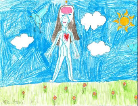 April 2022: Mila Donoso, 2nd Grade, Cali Calmecac Language Academy, Maestro Ramirez