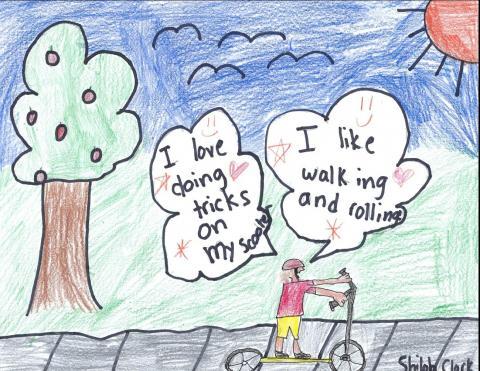 June 2022: Shiloh Clark, 4th Grade, Sequoia Elementary, Ms. Werle