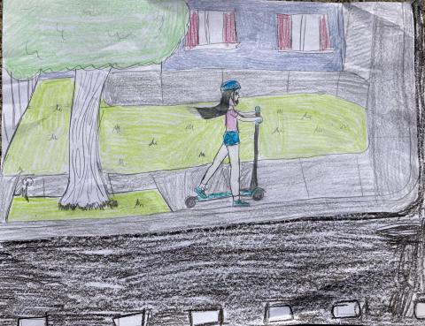 August 2022: Ceclia Dal Porto, 4th Grade, Loma Vista Immersion Academy, Maestra Nunez