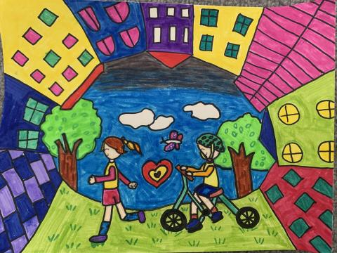 June 2021: Suah Park, 2nd Grade, Sequoia Elementary, Ms. Waud