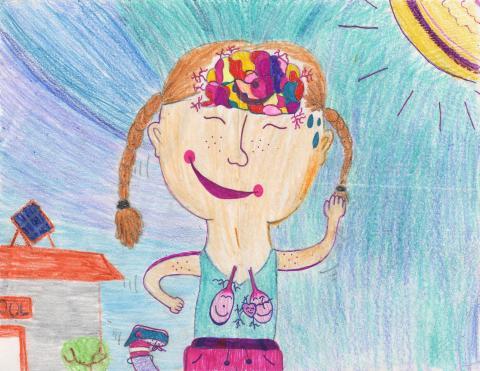 July 2021: Clara Wanser, 3rd Grade, Sequoia Elementary, Mrs. King