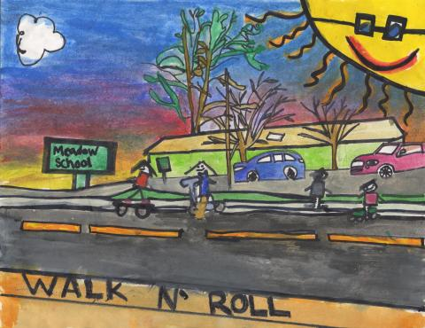 September 2021: Vanessa Milany Garcia, 2nd Grade, Meadow Elementary, Mrs. Nangle