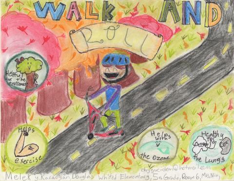 October 2021: Melek Karaoglen, 5th Grade, Douglas L. Whited Elementary, Mrs. Nin